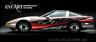 Race Car Graphics Vinyl Decal IMCA Late Model scca New