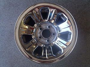 "2008 Ford Ranger Stock Wheels Set of Four Chrome Hubcaps Painted Silver 15"" 4"