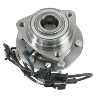 Chevy Trailblazer Envoy Bravada w ABS 6 Lug Front Wheel Hub Bearing Assembly