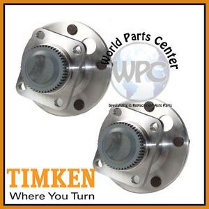 TIMKEN 2 Front Wheel Bearing Hub Assembly Fits Chevy Corvette 1984 1990 Pair