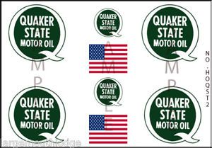 HO Scale 1 87 Custom Model Tanker Truck Decals HOQST2
