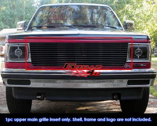 82 90 Chevy s 10 Pickup Blazer s 15 Jimmy Black Billet Grille Insert