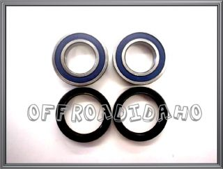 Front Wheel Bearing Seal Kit Suzuki RM125 RM250 01 08