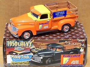 Ertl Prestige Federated Auto Parts 1950 Chevy 3100 Pickup Stake Truck