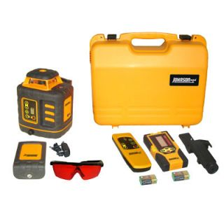 JohnsonLevelandTool Self Leveling Rotary Laser Kit