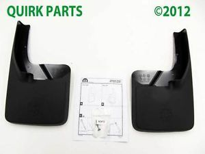 2010 2012 Dodge RAM 1500 Front Rear Splash Guards Set Mopar Genuine New