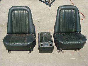1967 1968 1969 1970 1971 1972 Chevy Chevrolet Truck Pickup Bucket Seats Console