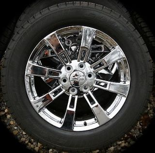 "New GMC Yukon XL Denali Sierra Cadillac Escalade Chrome 20"" Wheels Rims Tires"