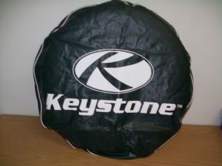 "New RV Trailer camper Pop Up Keystone 13"" Spare Tire Cover Green"