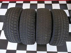 Bridgestone Blizzak WS 50 Snow Tires Set of 4 205 55R16 91T Nice Shape