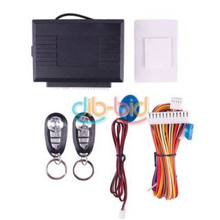 New Universal Car Vehicle Remote Control Door Lock Kit Keyless Entry System