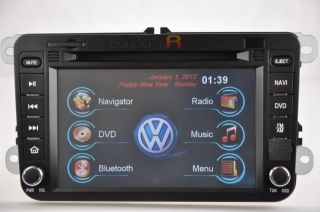 2006 2010 VW GTI Volkswagen DVD GPS Navigation Radio Double DIN in Dash 07 08 09