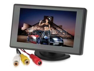 "4 3"" TFT LCD Digital Car Monitor Rear View Backup for Car VCD DVD GPS Camera"