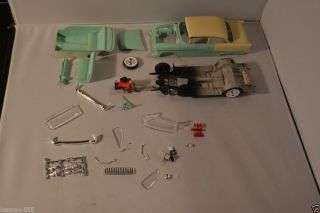 1955 55 Chevy Chevrolet Bel Air Project Parts Junk Model Car Kit Pro Started