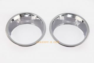 2007 2014 Jeep Wrangler Head Lamps Rings Lights Trim Bezel Chrome Covers