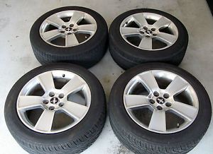 "18"" Ford Mustang GT Alloy Wheels Rims Kumho Tires 2007 Silver"
