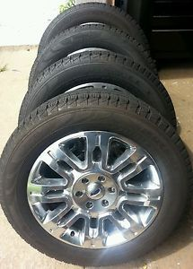 2013 20in Ford F150 Expedition Platinum Wheels with New Pirelli Tires