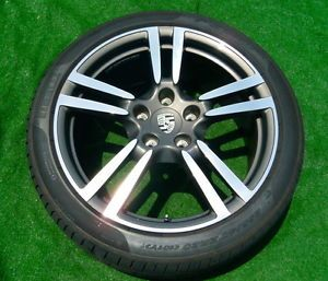 4 Perfect Flawless Porsche Panamera 20 inch Turbo 2 II Wheels Pirelli Tires