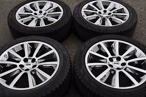 "20"" Ford Edge Flex PVD Chrome Wheels Rims Tires Factory Wheels 3771"