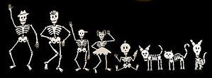 Day of The Dead Skeleton Family Car Decals Stickers Choose Any 8 Stickers