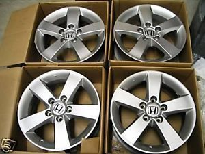 "16"" Honda Civic SI 2008 2009 2010 2011 10 11 CR V Accord Acura Wheels Rims 4"