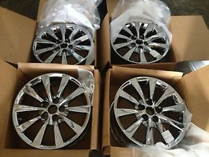 "2012 Lexus LS 460 Rims 18"" Lexus Wheels PVD Lexus Wheels Chrome 74221 Set of 4"