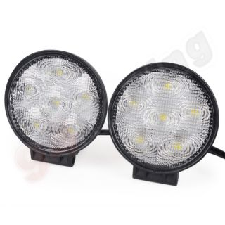 2X 18W LED Work Light Lamp ATV Heavy Duty Boat Truck Offroad 4x4 Trailer UTV