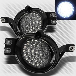 02 08 Dodge RAM 04 05 Durango Full LED Bumper Fog Lights Lamp Switch Pair Set
