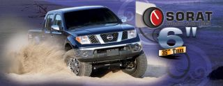 "2006 2012 Nissan Frontier 6"" Lift Kit US Made Fabtech Motorsports"