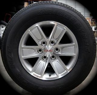 "New 2014 GMC Sierra Chevy Silverado 1500 Factory 17"" Alloy Wheels Rims Tires"