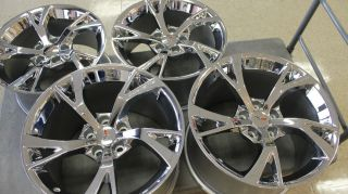 GM Chrome Limited Edition RARE C6 Z06 ZO6 Grand Sport Corvette Wheels Rims