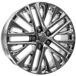 "Lexus ES350 18"" Chrome Wheel Rims with Logo Caps 2013 Set of 4"