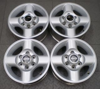 "62384 Nissan Frontier Xterra 16"" Factory Alloy Wheels Rims 4"