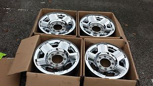 "Ford Wheels 18"" 2008 2009 2010 F250 F350 Factory Chrome Clad 2005 2013"