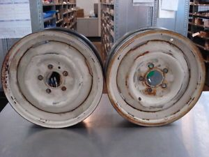 Vintage Ford Wheels 15x4 5 Skinny Front Runner Thunderbolt Gasser Hot Rod