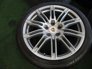 "21"" Factory Porsche Cayenne Wheels s GTS Turbo Tires VW Touareg Audi Q7"
