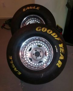 Centerline Convopro Convo Pro Wheels Tires Rims 15x14 Goodyear Slicks