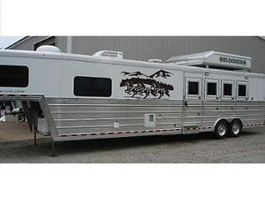 Horse Trailer Wall Art Horses Mountain Scenery Decal Indoor Outdoor