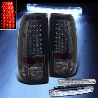 Sierra Smoked LED Tail Lights
