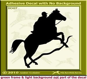 Endurance Horse Window Trailer Decal Sticker 427
