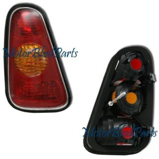 02 06 Mini Cooper Hatchback Tail Light Rear Lamp Driver Left Side LH