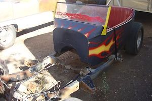 T Bucket Gasser Hot Rod Rat Rod Race Car Pro Street Glass Body