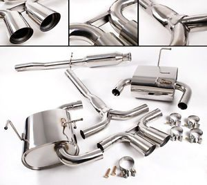 BMW Mini Cooper s R53 Stainless Steel Cat Back Exhaust System 2002 2006