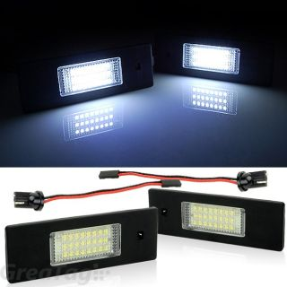 24 SMD LED License Plate Light Lamp for 08 10 Mini Cooper Clubman R55