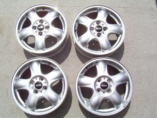 "Mini Cooper 15"" Wheels Rims Stock 4x100 Scion XA XB Yaris Civic Prius C 15"""
