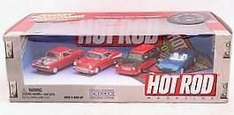 Johnny Lightning Hot Rod Magazine 4 Car Set 1 64 Scale
