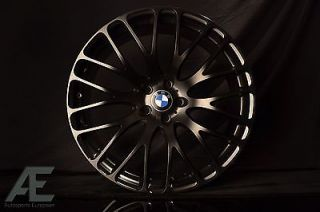 20 inch BMW 740i 740LI 750i 750LI Wheels Rims and Tires HR6 Matte Black