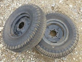 Economy Power King 1614 Tractor Good Year 8 16 Rear Tires Rims