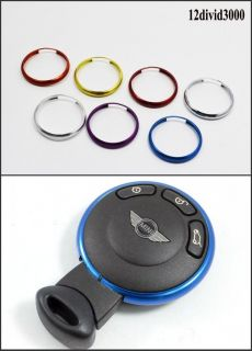 Key Fob Replacement Trim Ring Fit Mini Cooper 08 on JCW R55 R56 R57 R58 R59 R60