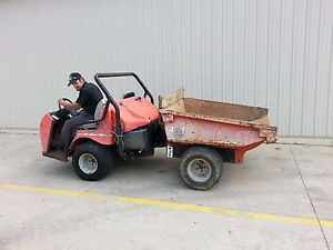Smithco Bigfoot Utility Truck with Dump Bed Turf Truck